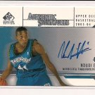 2003-04 UD SP SIGNATURES NDUDI EBI TIMBERWOLVES AUTHENTIC SIGNATURES CARD