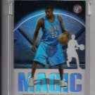 2003-04 TOPPS PRISTINE REECE GAINES MAGIC UNCIRCULATED ROOKIE REFRACTOR CARD #'D 1395/1999!