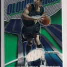 2003-04 TOPPS FINEST MICHAEL OLOWOKANDI TIMBERWOLVES GAME-WORN SHORTS CARD #'D 84/999!