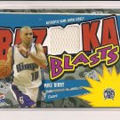 2003-04 TOPPS BAZOOKA BLASTS MIKE BIBBY KINGS JERSEY CARD
