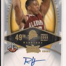 2008-09 FLEER HOT PROSPECTS RICHARD HENDRIX WARRIORS AUTOGRAPHED ROOKIE CARD