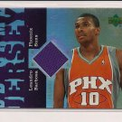 2007-07 UD RESERVE LEANDRO BARBOSA SUNS JERSEY CARD