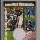 NSA SHAUN ALEXANDER SEAHAWKS GAME USED JERSEY 5 OF 37!