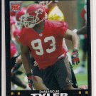 "2007 TOPPS CHROME DEMARCUS ""TANK"" TYLER ROOKIE REFRACTOR CARD"