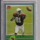 2003 TOPPS ANQUAN BOLDIN CARDINALS ROOKIE CARD GRADED BCCG 10!