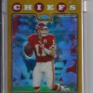 2008 TOPPS CHROME DAMON HUARD CHIEFS UNCIRCULATED GOLD REFRACTOR #'D 013/199!