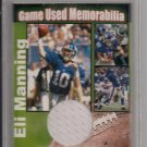 NSA ELI MANNING GIANTS JERSEY CARD NUMBERED 3 OUT OF 10-RARE!