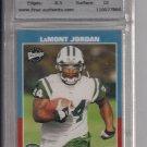 2001 UPPER DECK VINTAGE LAMONT JORDAN JETS ROOKIE CARD GRADED TFA 9!