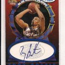 1997-98 SCORE BOARD TONY BATTIE BLUE RIBBON PLAYER AUTO #'D 177/650!
