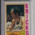 1974 TOPPS BILL BRADLEY KNICKS CARD GRADED FGS 9.5!