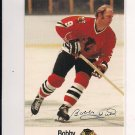 1988-89 ESSO BOBBY HULL BLACKHAWKS CARD