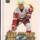 2000-01 PACIFIC PARAMOUNT STEVE YZERMAN RED WINGS CARD