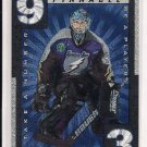 1997-98 PINNACLE BAP DAREN PUPPA LIGHTNING TAKE A NUMBER INSERT
