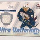 2007-08 FLEER ULTRA MARIAN HOSSA THRASHERS ULTRA UNIFORMITY JERSEY CARD
