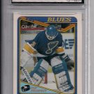 1990 O PEE CHEE CURTIS JOSEPH BLUES ROOKIE CARD GRADED FGS 10!