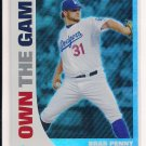 2008 TOPPS BRAD PENNY DODGERS OWN THE GAME INSERT