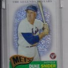 2005 TOPPS PRISTINE DUKE SNIDER METS LEGENDARY YEARS UNCIRCULATED REFRACTOR #'D 273/549!