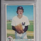 "1979 TOPPS JIM ""CATFISH"" HUNTER CARD GRADED FGS 10!"