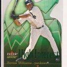 2001 FLEER GENUINE BERNIE WILLIAMS YANKEES HIGHT INTEREST INSERT CARD