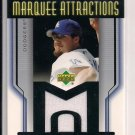 2004 UPPER DECK MARQUEE ATTRACTIONS ERIC GAGNE DODGERS JERSEY CARD