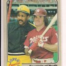 1983 FLEER FOUNTAIN OF YOUTH WILLIE STARGEL/PETE ROSE CARD