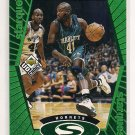 1998-99 UPPER DECK CHOICE GLEN RICE HORNETS STARQUEST GREEN INSERT