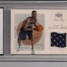 2001-09 UD SWEET SHOT BRANDON ARMSTRONG NETS ROOKIE JERSEY CARD CRADED SCG10!