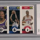 1996-97 UPPER DECK COLLECTORS CHOICE O'NEAL/SMITH/IVERSON MINI CARD GRADED BCCG10!