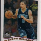 2005-06 TOPPS CHROME DERON WILLIAMS JAZZ ROOKIE CARD