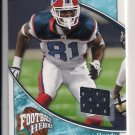 2009 UPPER DECK FOOTBALL HEROES JAMES HARDY BILLS JERSEY CARD