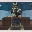 2007 UPPER DECK ARTIFACTS MARC BULGER RAMS NFC APPAREL JERSEY CARD #'D 040/325!