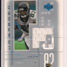 2001 UPPER DECK GRADED JIMMY SMITH JAGUARS JERSEY CARD