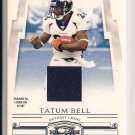 2007 DONRUSS THREADS TATUM BELL JERSEY CARD #'D 237/250!