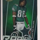 2005 BOWMAN'S BEST REGGIE BROWN EAGLES ROOKIE JERSEY CARD