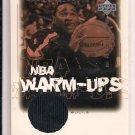 2000-01 UPPER DECK ENCORE KHALID EL-AMIN BULLS WARM UP JERSEY CARD