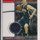 2006-07 TOPPS FINEST SARUNAS SASIKEVICIUS PACERS FINEST FACT JERSEY CARD