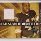 2007 LEAF ROOKIE & STARS MICHAEL BUSH RAIDERS FRESHMAN ORIENTATION JERSEY CARD #'D 008/175!