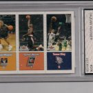 2002-03 FLEER TRADITION WAGNER/WOODS/SLAY ROOKIE CARD GRADED FGS 10!