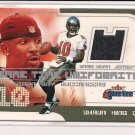 2001 FLEER GAME TIME UNIFORMITY SHAUN KING BUCCANEERS JERSEY CARD