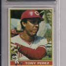 1976 TOPPS TONY PEREZ REDS CARD GRADED FGS 10!