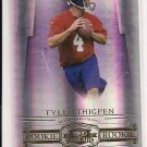 2007 DONRUSS THREADS TYLER THIGPEN ROOKIE CARD