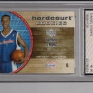 2005 UPER DECK DANIEL EWING CLIPPERS HARCOURT ROOKIE CARD GRADED FGS10!