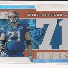 2002 PRESSPASS MIKE PEARSON BIG NUMBERS INSERT