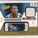 2003-04 FLEER AUTHENTIX DAJUAN WAGNER CAVALIERS JERSEY CARD