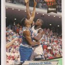 1992-93 FLEER ULTRA SHAQUILLE O'NEAL MAGIC ROOKIE CARD