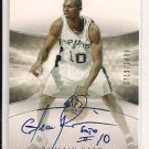 2004-05 UPPER DECK SP AUTHENTIC ROMAIN SATO SPURS ROOKIE AUTO CARD