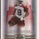 2007 DONRUSS THREADS STEVE BREASTON CARDINALS ROOKIE CARD #'D 877/999!