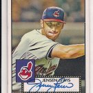 2007 TOPPS 52 JENSEN LEWIS INDIANS AUTOGRAPHED ROOKIE CARD