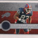 2008 UPPER DECK LEE EVANS BILLS GAME JERSEY CARD