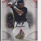 2008 DONRUSS THREADS ABRAHAM ALMONTE YANKEES ROOKIE AUTOGRAPHED CARD